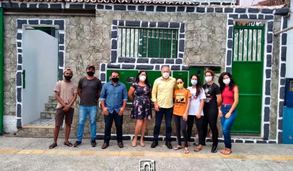 Imagens da Prefeitura de Iraquara apresenta a nova Casa do Estudante