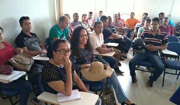 Imagens da Reunião com Secretária de Educação