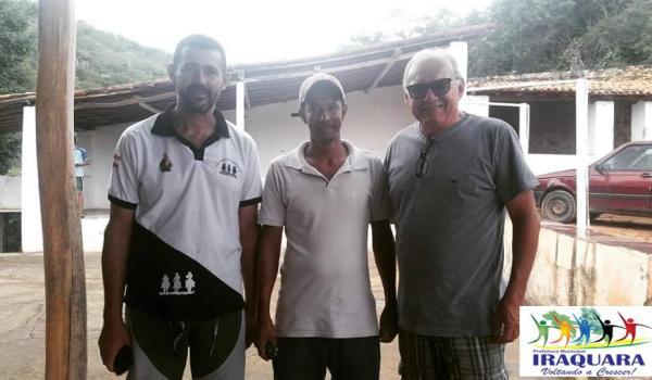 Imagens da Visita a Comunidade de Riacho do Mel