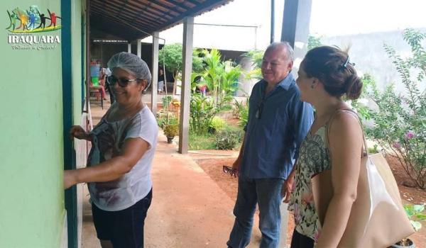 Imagens da Visita ao CRAS - Centro de Referência da Assistência Social