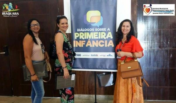 """Imagens da SEMINÁRIO """"DIÁLOGOS SOBRE A PRIMEIRA INFÂNCIA""""."""