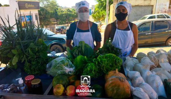 Imagens da Feira da Economia Criativa dá incentivo a agricultores familiares