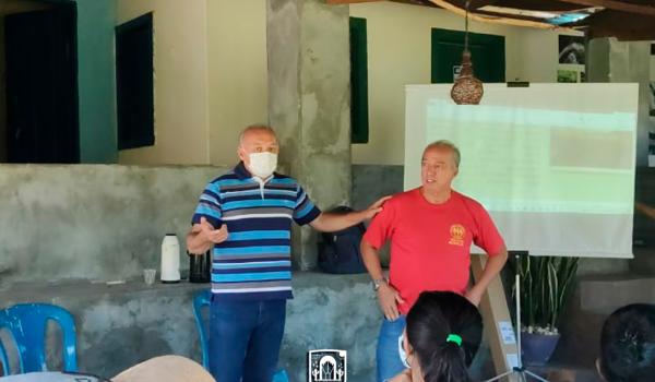 Imagens da Prefeitura de Iraquara promove cursos para guias e moradores da comunidade de Riacho do Mel