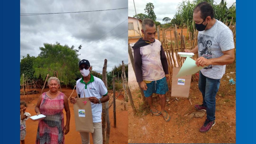 CREAS realiza atividades na zona rural do município