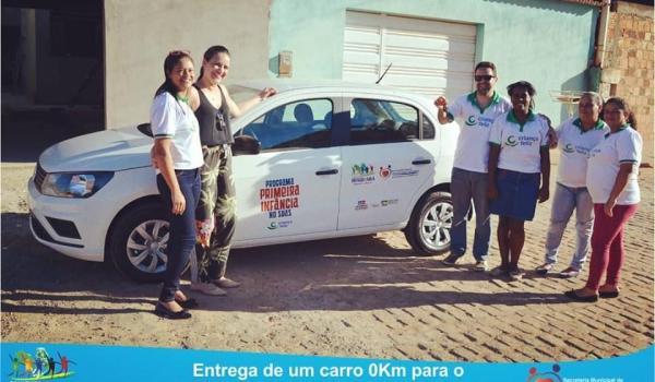 Entrega de um Carro 0 km para o Programa Primeira Infância no SUAS