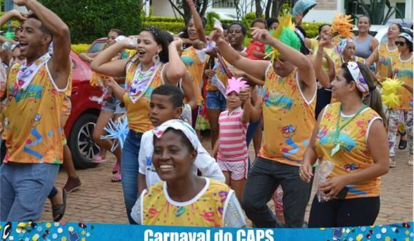 Equipe do CAPS Carnaval