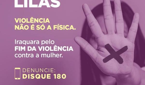 Mês de conscientização pelo fim da violência contra a mulher