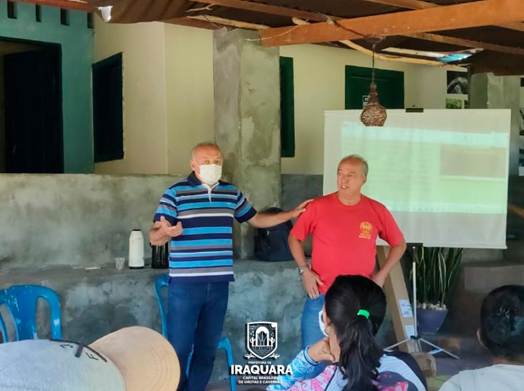 Prefeitura de Iraquara promove cursos para guias e moradores da comunidade de Riacho do Mel