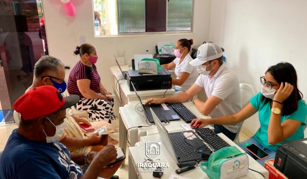 Prefeitura de Iraquara realiza triagem para cirurgia de Catarata