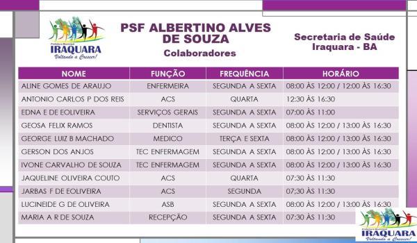 PSF ALBERTINO ALVES DE SOUZA