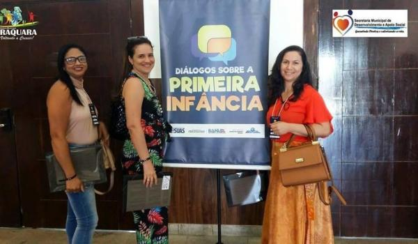 """SEMINÁRIO """"DIÁLOGOS SOBRE A PRIMEIRA INFÂNCIA""""."""