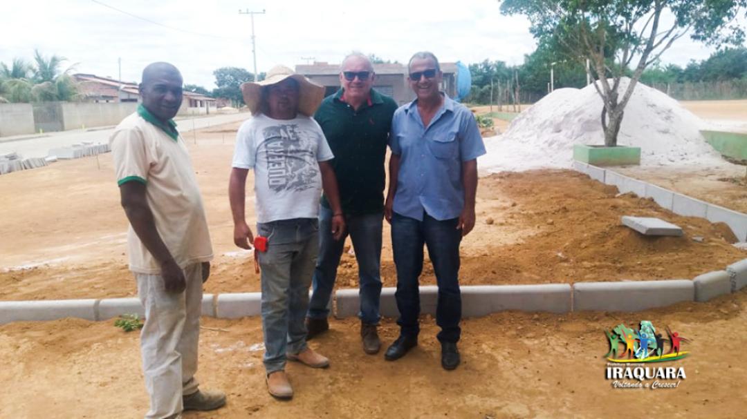 Visita às Obras de Pavimentação
